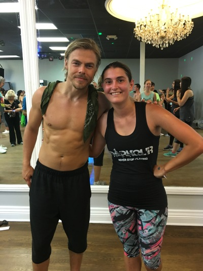 Me and Derek Hough